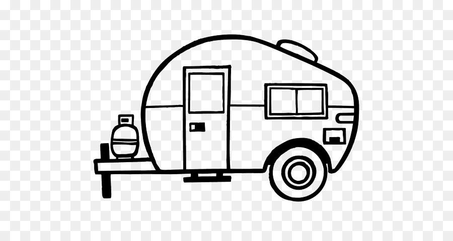 Motorhome happy stencil clip. Camper clipart class c