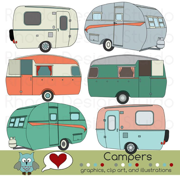 best into images. Camper clipart family