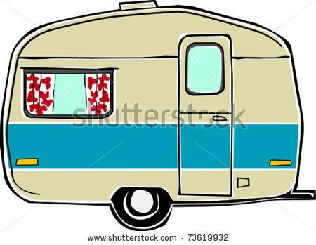 Vintage google search inspiration. Camper clipart family