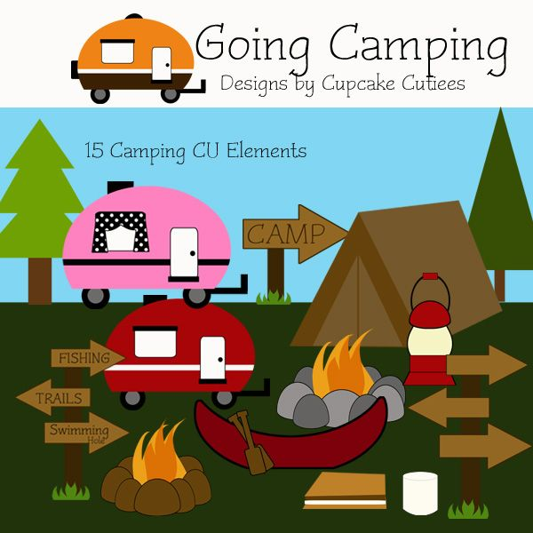 best images on. Camper clipart fishing