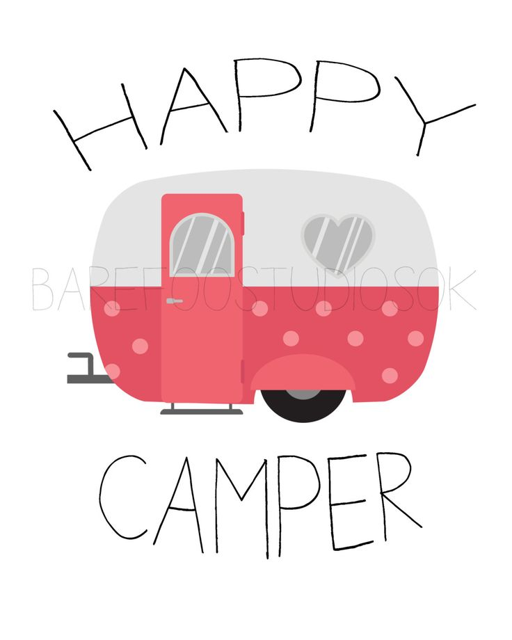 Camper clipart girly.  best vintage tin
