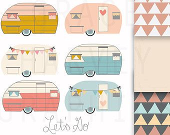 best animal clip. Camper clipart girly