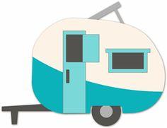 Camper clipart logo. Free retro cliparts download