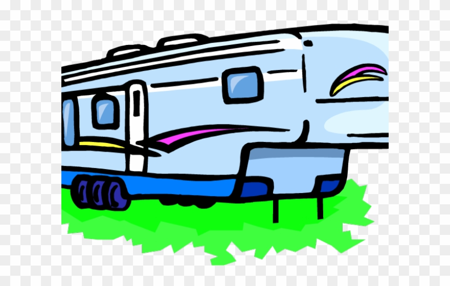 Camper clipart logo. Vacation rv png download