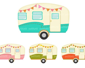 Camper clipart motorhome. Campervan etsy on sale