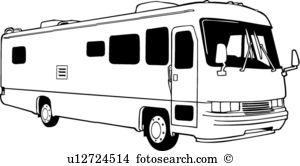 Camper clipart motorhome.  rv clip art