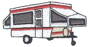 Pop up . Camper clipart popup camper