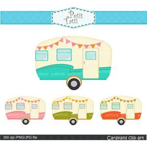 Camper clipart retro camper. Free cliparts download clip