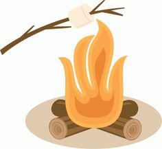 Roasting Marshmallows SVG scrapbook file camping svg files camping