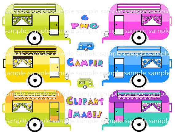 Camper clipart scrapbook.  best camping clip