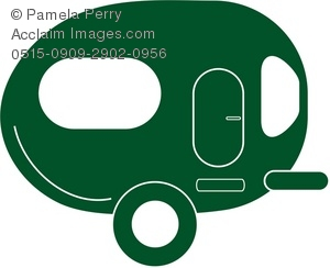 Camper clipart silhouette. At getdrawings com free