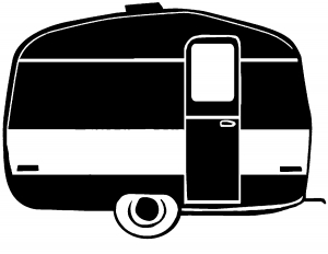 At getdrawings com free. Camper clipart silhouette