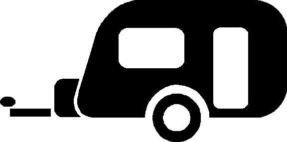 Caravan picture make it. Camper clipart simple