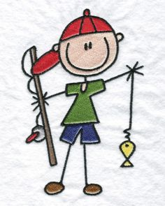 best figures images. Camper clipart stick figure