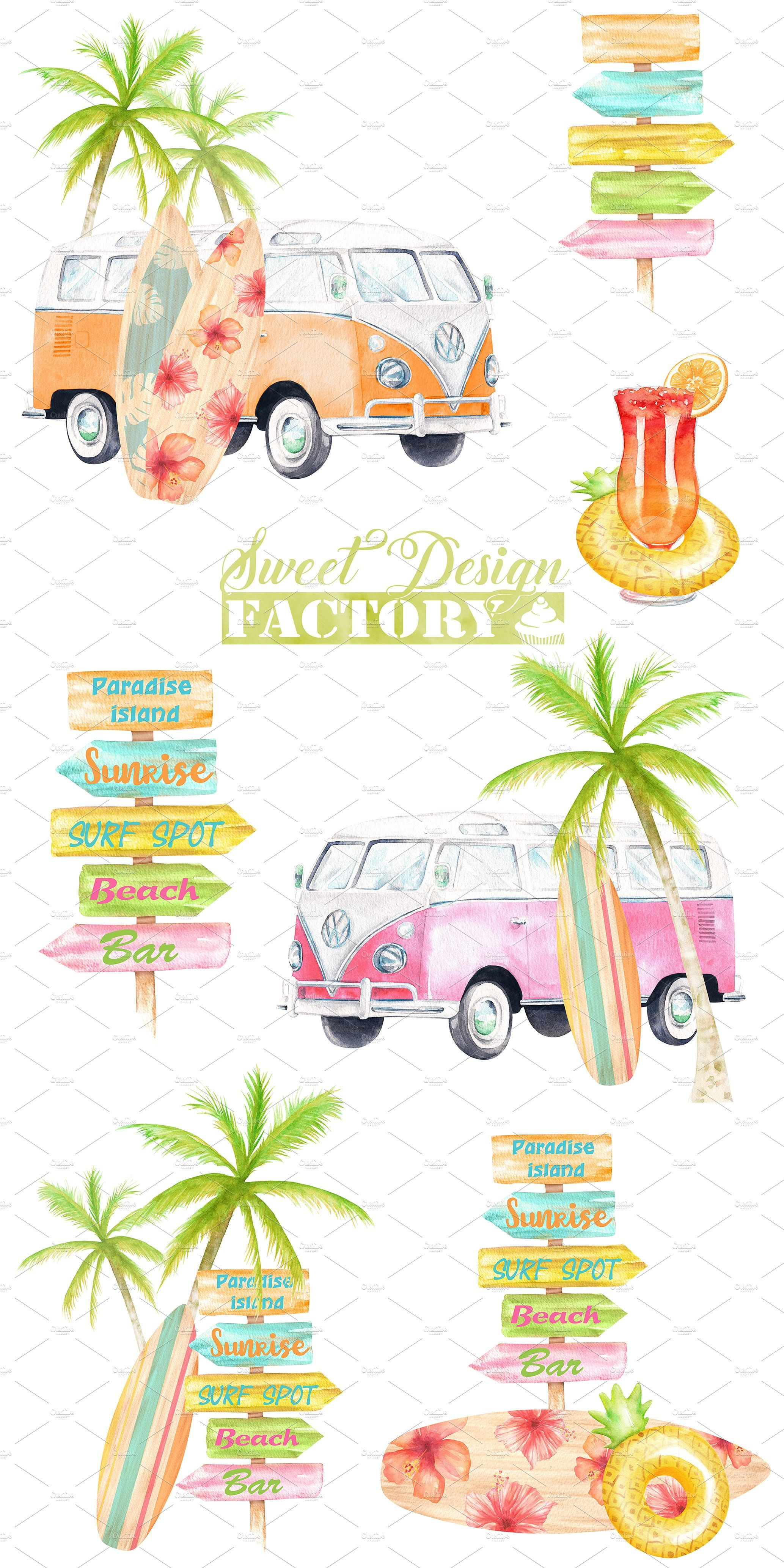Camper clipart summer. Shower baby birthday printables