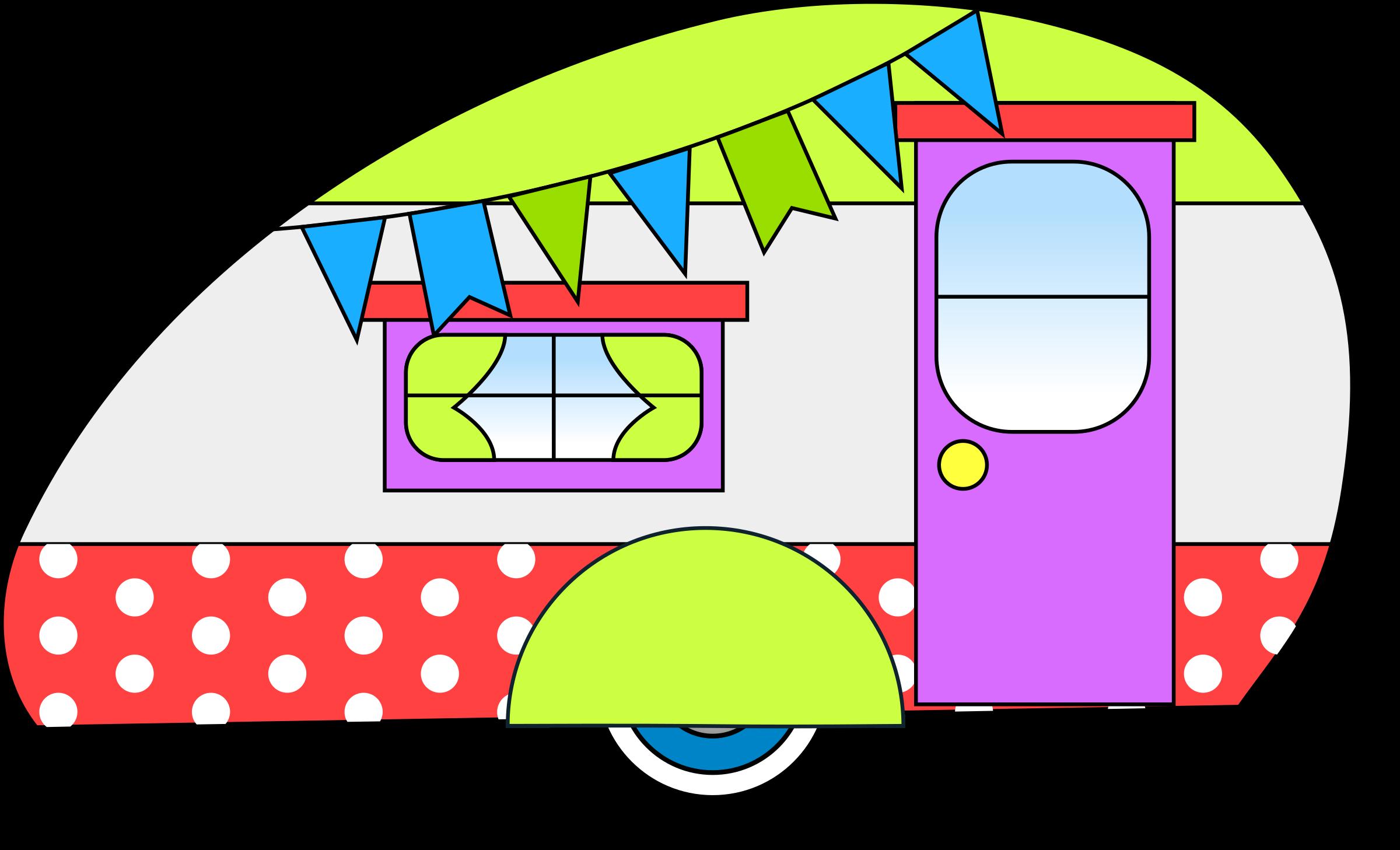 Camper clipart vintage camper. Retro cliparts free download