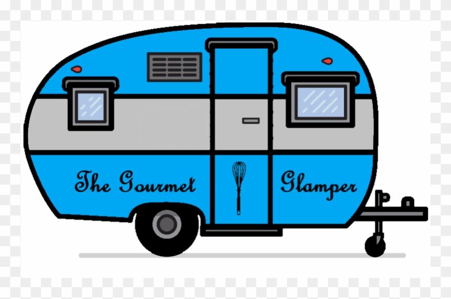 Camper clipart vintage camper. Contact clip art png