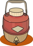 Camper clipart water. Free camping clip art