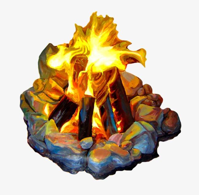 Campfire clipart animated. Bonfire png vectors psd