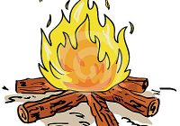 Camp fire clip art. Campfire clipart animated