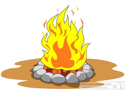 Campfire clipart animated. Girl scout kid