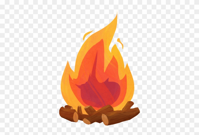 Portal . Campfire clipart animated