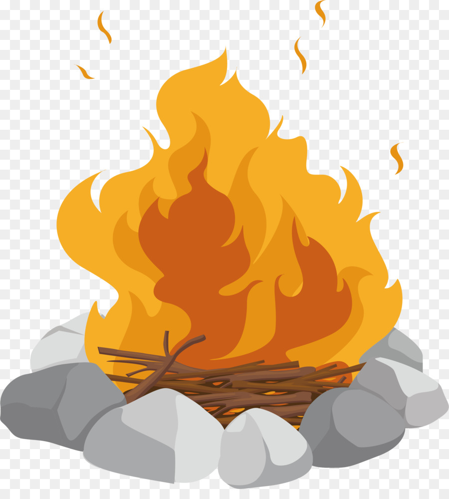 Cartoon clip art field. Campfire clipart bonfire