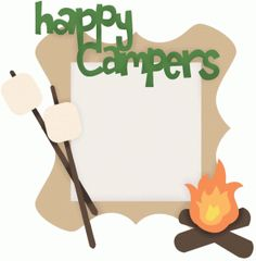 Campfire clipart border. Camping free download best