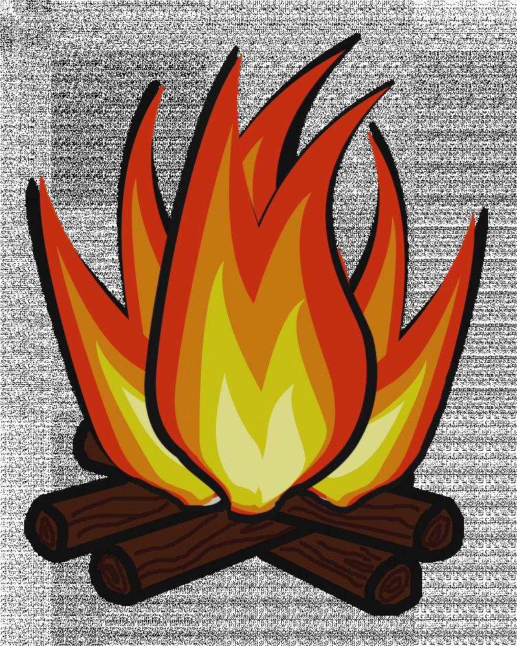 Unique clip art stock. Campfire clipart camp fire