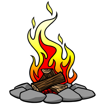 Campfire clipart cartoon. Clipartandscrap clipartix