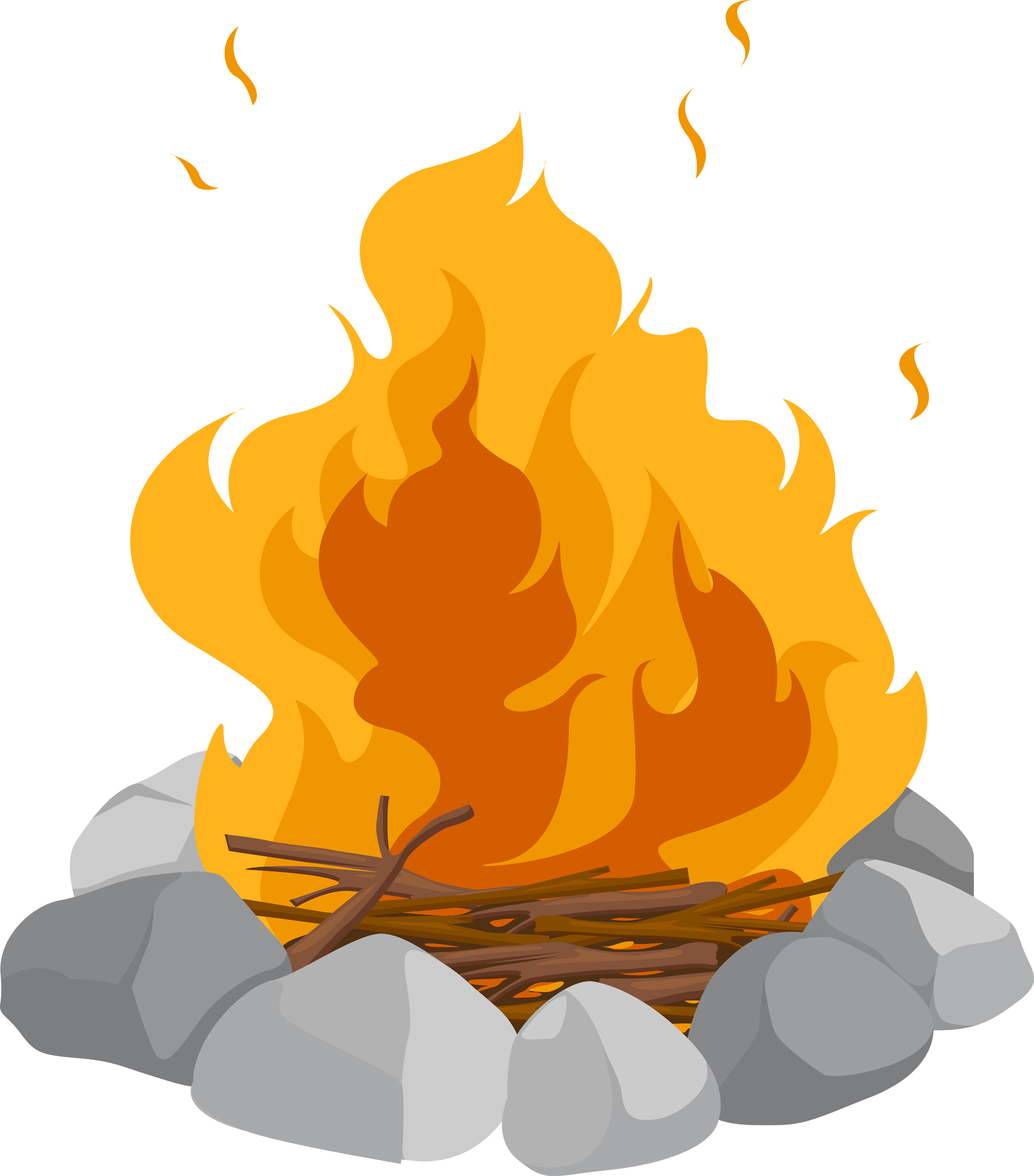Campfire clipart children's. Tuesday my week at