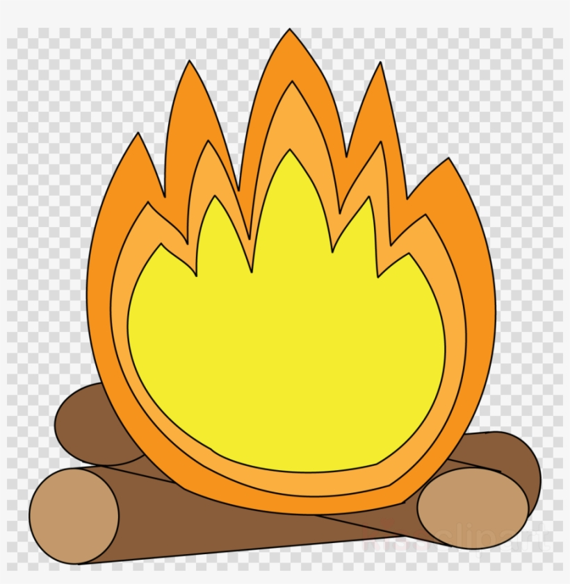 S mores smore bonfire. Campfire clipart comic