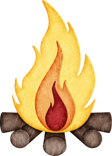 Campfire clipart cute. Pin by patty hart