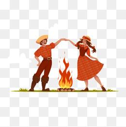 Bonfire png vectors psd. Campfire clipart dance