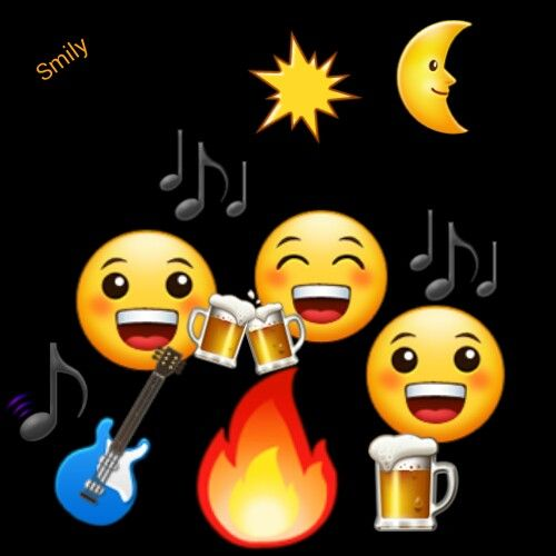Party with emojis pinterest. Campfire clipart emoji