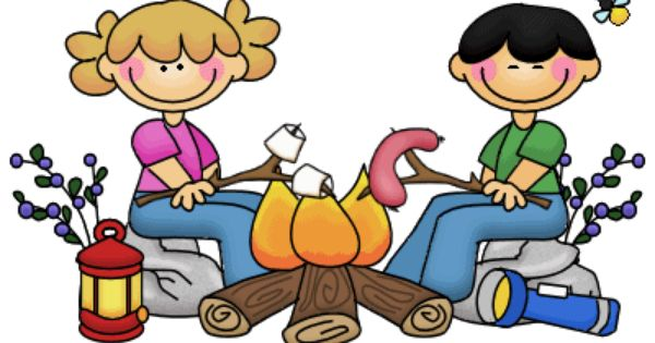 Camper clipart camping theme. Campfire cartoon free download