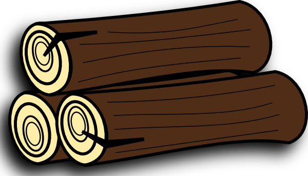 Logs clipart wood. Free burning fireplace cliparts