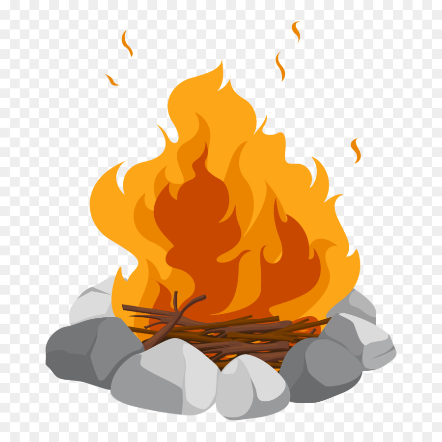 Campfire clipart flame. Cartoon bonfire clip art