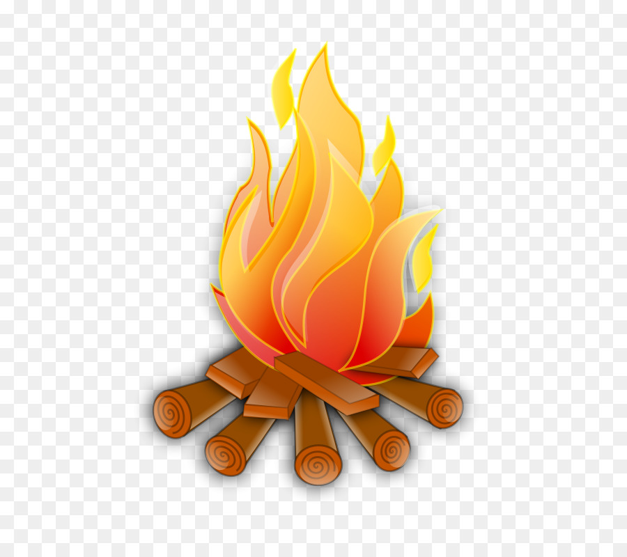 Cartoon fire . Campfire clipart flame