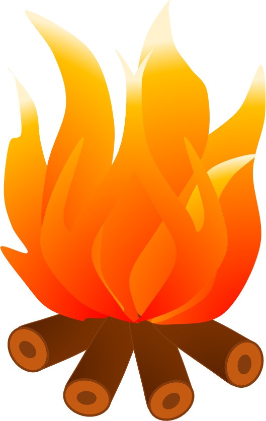 Campfire clipart flame. Clip art chimney flames