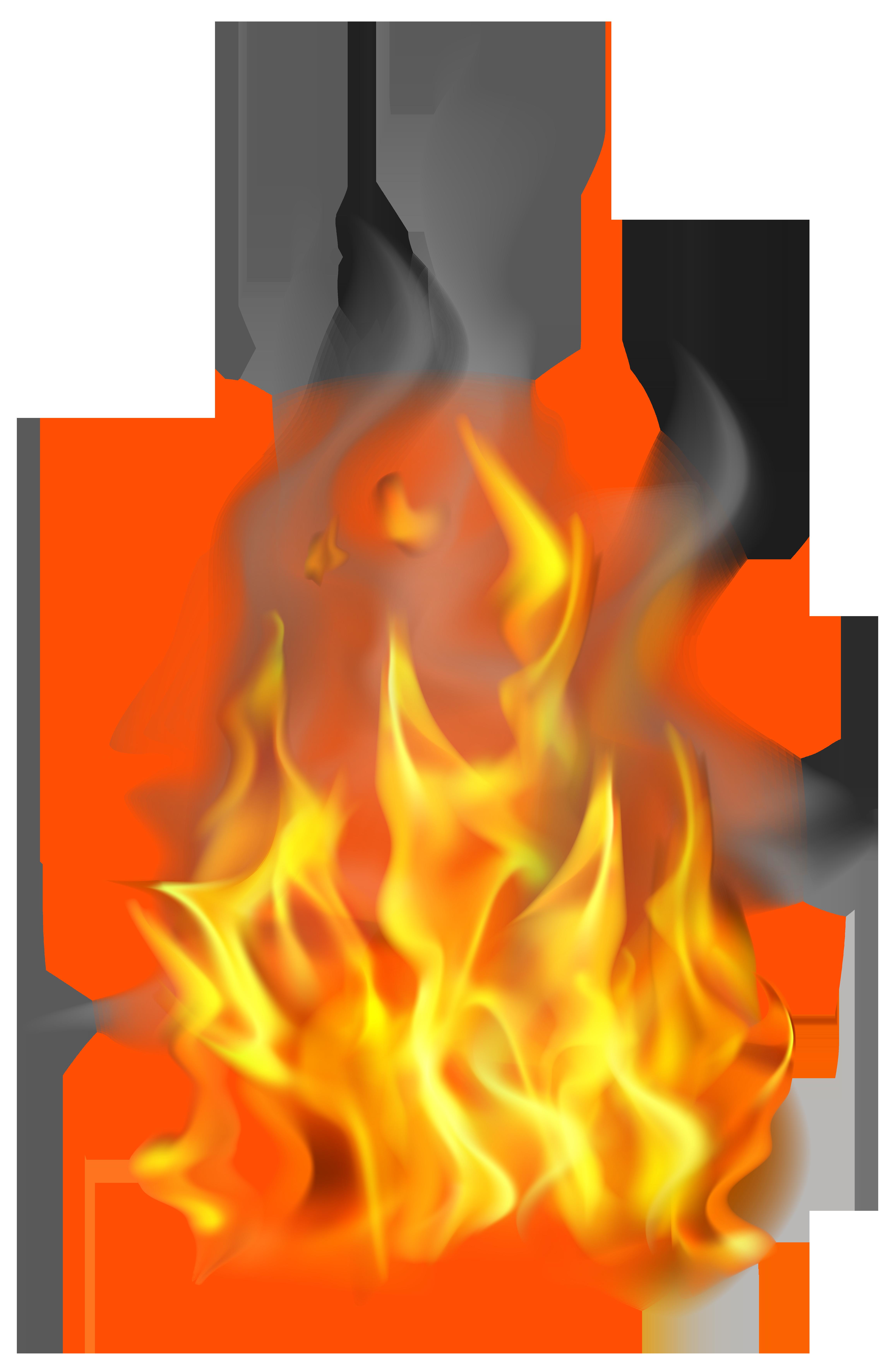 Fire png clip art. Campfire clipart large