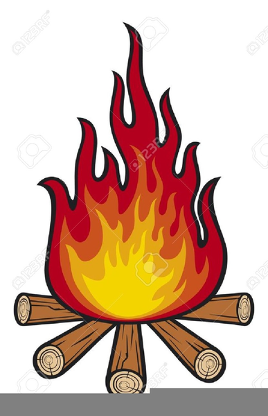 Cartoon free images at. Campfire clipart large