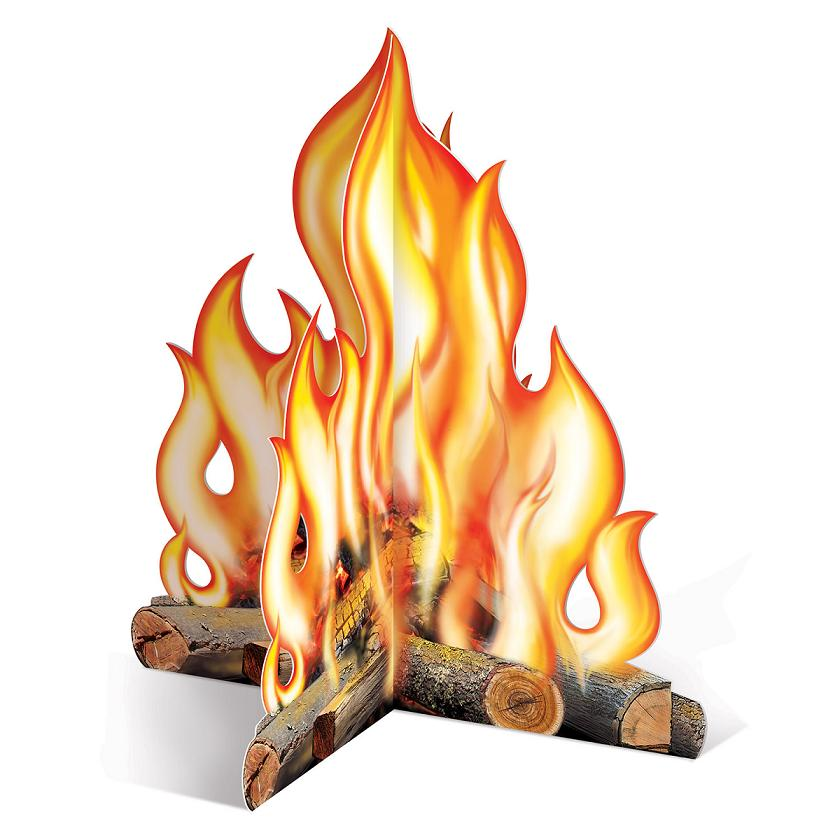 Campfire clipart party. Download d centrepiece
