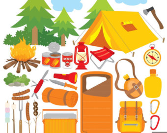 Campfire clipart party. Camping clip art tent
