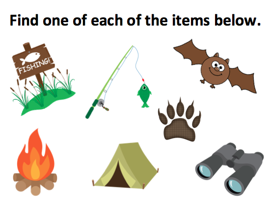 Campfire clipart party. Camping birthday ideas for