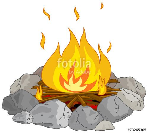 best camping images. Campfire clipart party