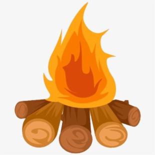 Clip art bonfire illustration. Campfire clipart party