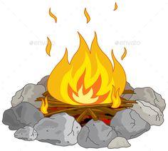 And smores clip art. Campfire clipart printable