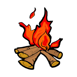 Campfire clipart scene. Best clipartion com clip