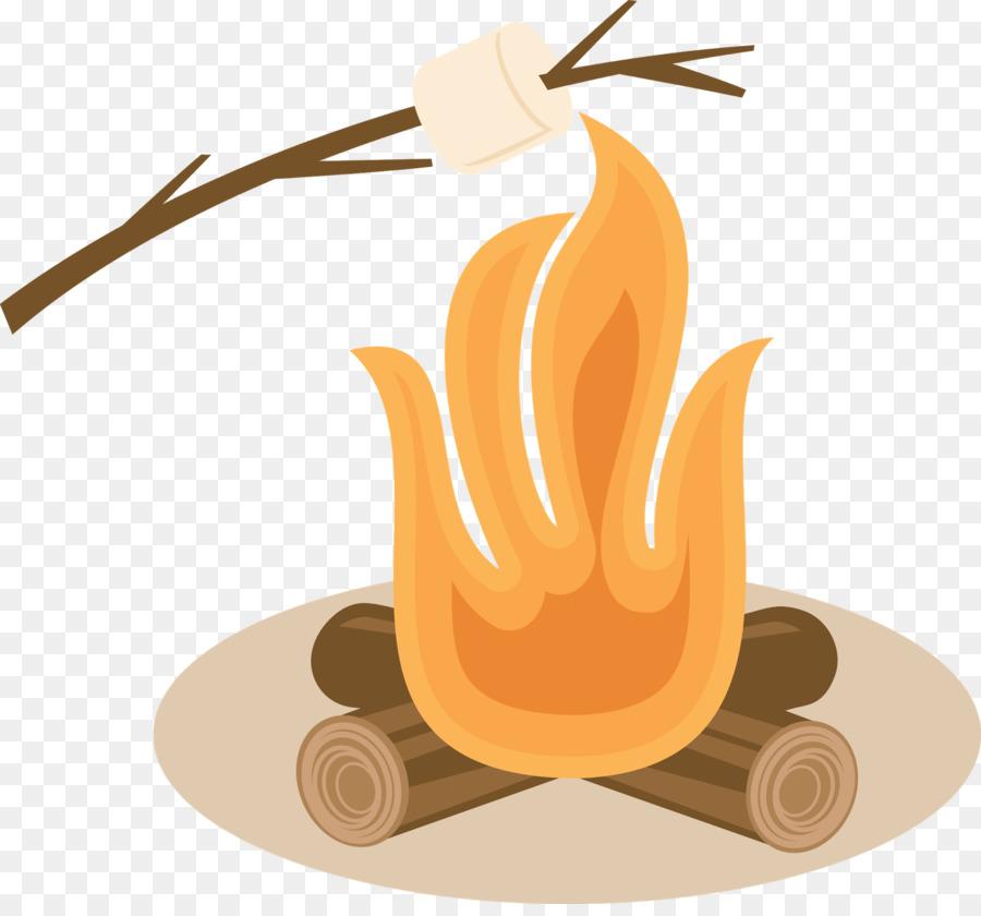 Campfire clipart smore. Food cartoon marshmallow